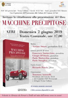Macchine Precipitose - Libro automobilismo