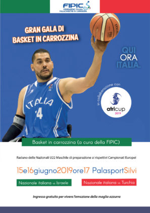 Gran Gala del Basket in Carrozzina - Raduno Nazionale U22