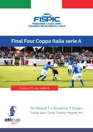 Final 4 Coppa Italia - Calcio a 5 non vedenti