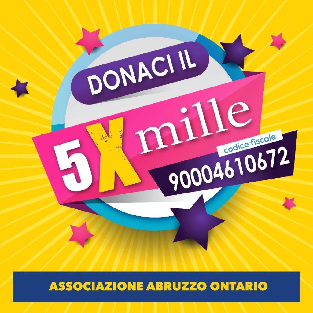 Invito donazione 5X1000